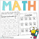 Common Core Math Assessments- 1st Grade - October