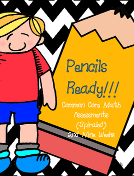 Common Core Math Assessments 3rd Grade Weeks 18-27