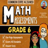 Common Core Math Assessments {6th Grade}