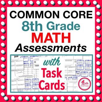 8th Grade Common Core Math Assessments