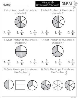 Math Assessments for Third Grade