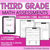 Math Assessments for Third Grade