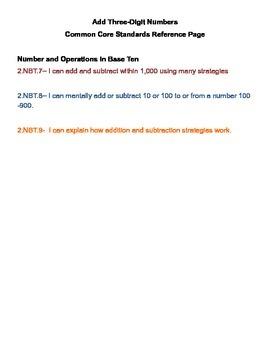 Common Core Math Assessments Entire Year Bundle!