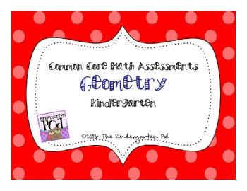 CC Math Assessments- Geometry