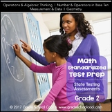 Math Assessments Grade 2 (Common Core Math Test Prep)