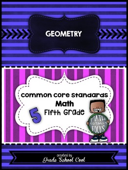 Common Core Math Assessments Grade 5 (Geometry)