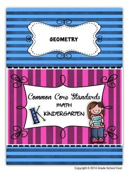 Common Core Math Assessments Grade K (Geometry)
