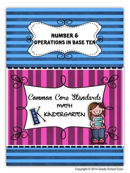Common Core Math Assessments Grade K (Number & Operations