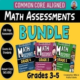 Common Core Math Assessments BUNDLE {Grades 3, 4 and 5}