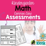 Kindergarten Assessments Math Common Core