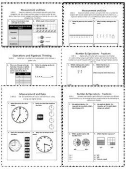 Common Core Math Assessments - Mega Bundle - Grades 1-6
