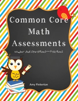 Common Core Math Worksheets Grade 4 (Number and Operations--Fractions) 4.NF