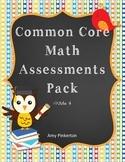 BUNDLED Common Core Math Worksheets Pack Grade 4 (ALL STANDARDS)