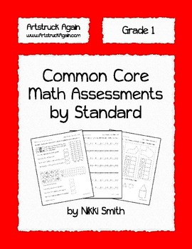Common Core Math Assessments by Standard (Grade 1)