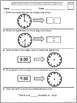 Common Core Math Assessments for 1st Grade - Measurement and Data (Grade 1 CCSS)