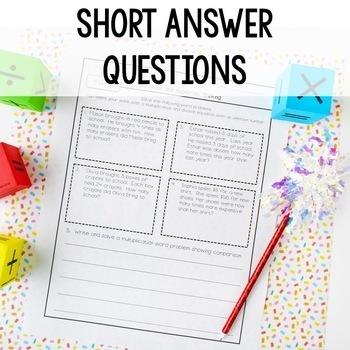 Fourth Grade Math Assessments - 4th Grade Common Core Math