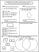 Common Core Math Assessments for 4th Grade - Geometry