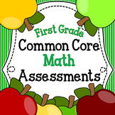 Common Core Math Assessments for First Grade