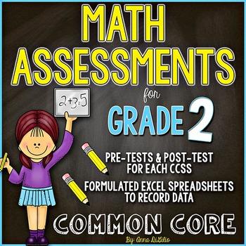 Math Assessments - Grade 2