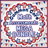 Common Core Math Assessments Bundle