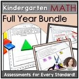 Common Core Aligned Math Assessments for Kindergarten for