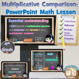 Common Core Math Bundle: 4.OA.1 & 4.OA.2  -Math Lesson and Task Cards