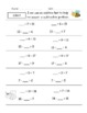 Common Core Math - Bundle of Practice Pages for First Grade *All Standards*