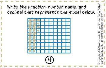 Common Core Math Bundle:4.NF.6: Decimal Notation for Fractions