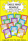 Common Core Math - CHOICE BOARD BUNDLE - Seventh Grade