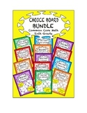 Common Core Math - CHOICE BOARD BUNDLE Sixth Grade