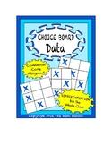 Common Core Math - CHOICE BOARD Data - 5th Grade