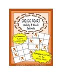 Common Core Math - CHOICE BOARD Multiplying & Dividing Decimals - 5th Grade