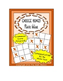 Common Core Math - CHOICE BOARD Place Value - 5th Grade