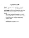 Common Core Math - Categorization Activity - Geometry - Lines
