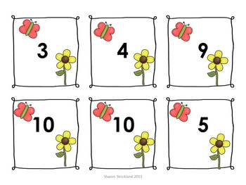 Common Core Math Center Game-Missing Addends-Going Buggy!