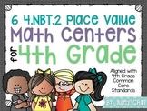 Common Core Math Centers (4.NBT.2 - Number Forms & Compari