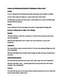 Common Core Math Centers Bloom's Taxonomy Kindergarten Math Menus KCC3-4