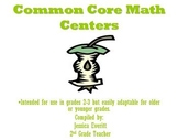 Common Core Math Centers Grades 2-3