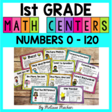 1st Grade Math Centers - Numbers 0-120