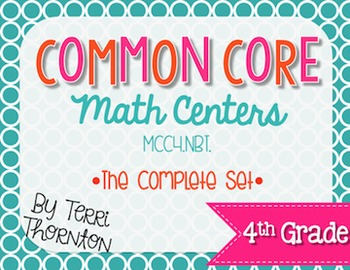 Common Core Math Centers: Numbers & Operations in Base Ten