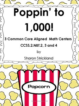 Common Core Math Centers-Numbers to 1000