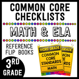 Common Core Math/ELA Checklist Flip Book - 3rd Grade