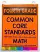 Common Core Math/ELA Checklists Flip Books - 4th Grade