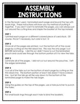 Common Core Math/ELA Checklists Flip Books - 5th Grade