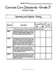 Common Core Math Checklists - Grade 3