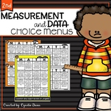 Choice Boards Second Grade Measurement and Data