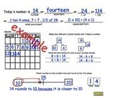 3rd Grade Common Core Math Calendar:   Math Concepts and Number Sense