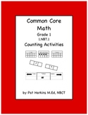Common Core Math First Grade Counting Activities 1.NBT.A.1