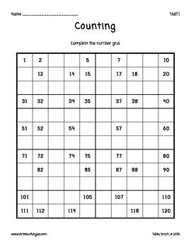 Common Core Math: Counting (Grade 1)