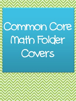 Common Core Math Covers